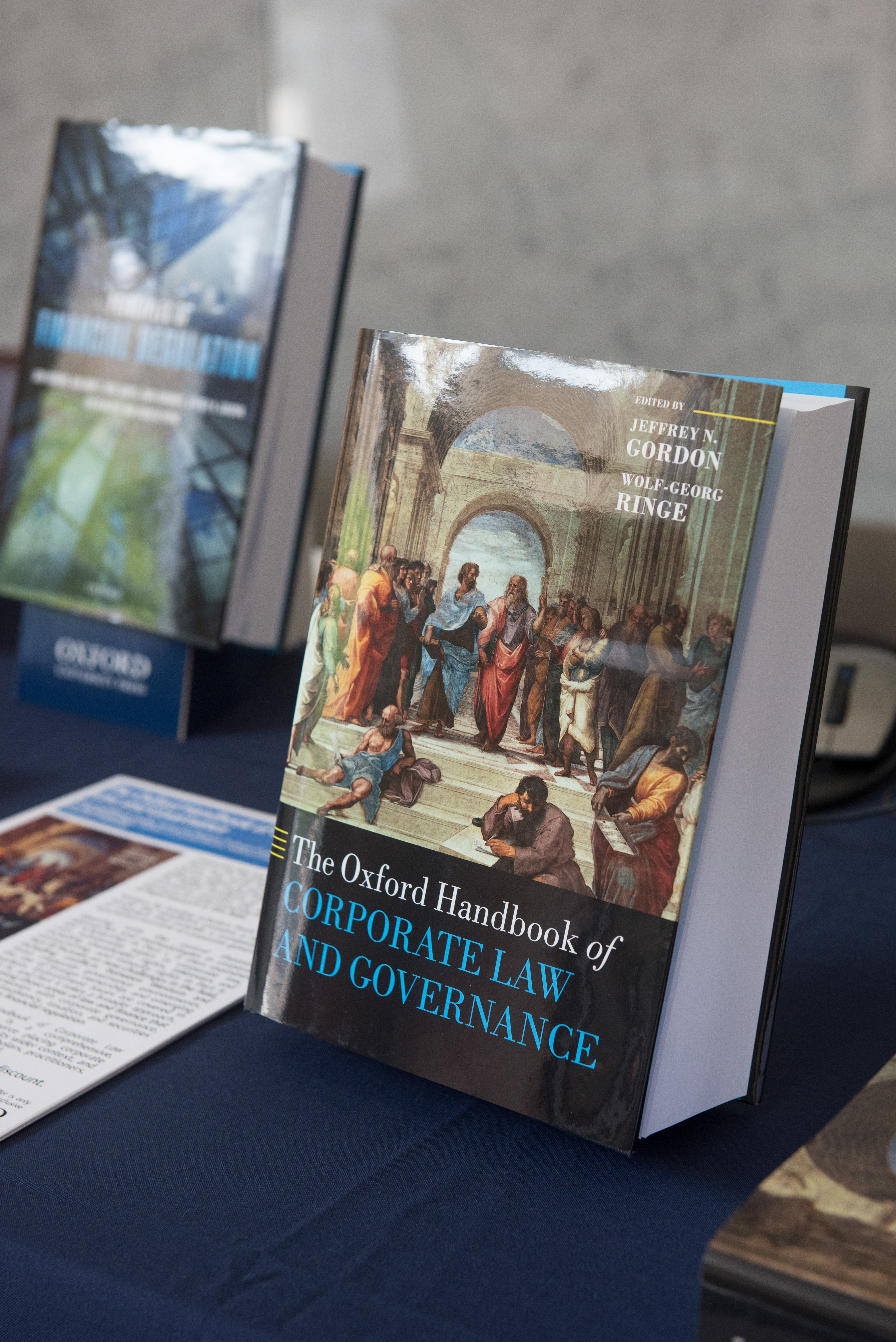Book Launch: The Oxford Handbook of Corporate Law and