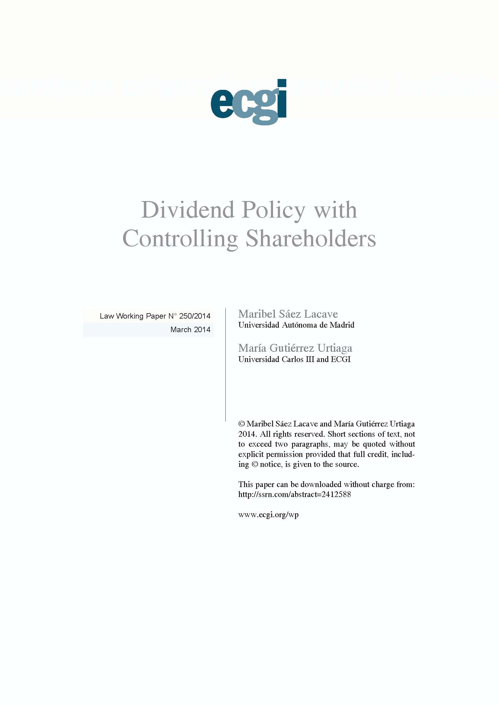 dividend policy on share holders A dividend policy can also affect the value of shares if a buyer knows that value can only be released in certain ways, he or she may be willing to pay less to acquire the shares a dividend policy may very well be a term you want to include in your shareholders agreement , even if your start-up is unlikely to pay dividends for a number of years.