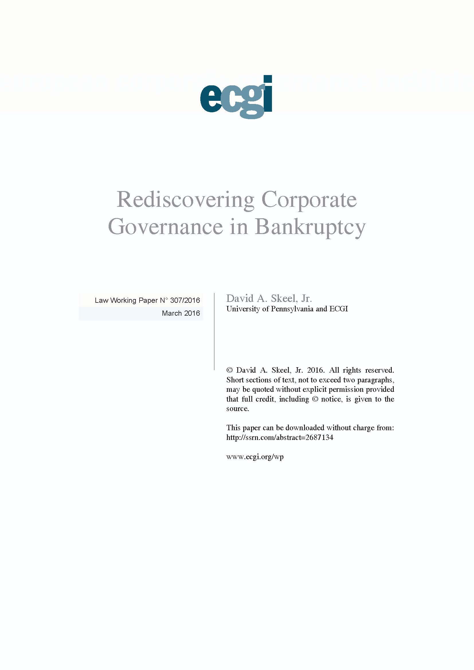 essays on corporate bankruptcy American board of certification study guide  business bankruptcy and consumer bankruptcy law  certification examinations  april 2015  the following was compiled to serve as a.