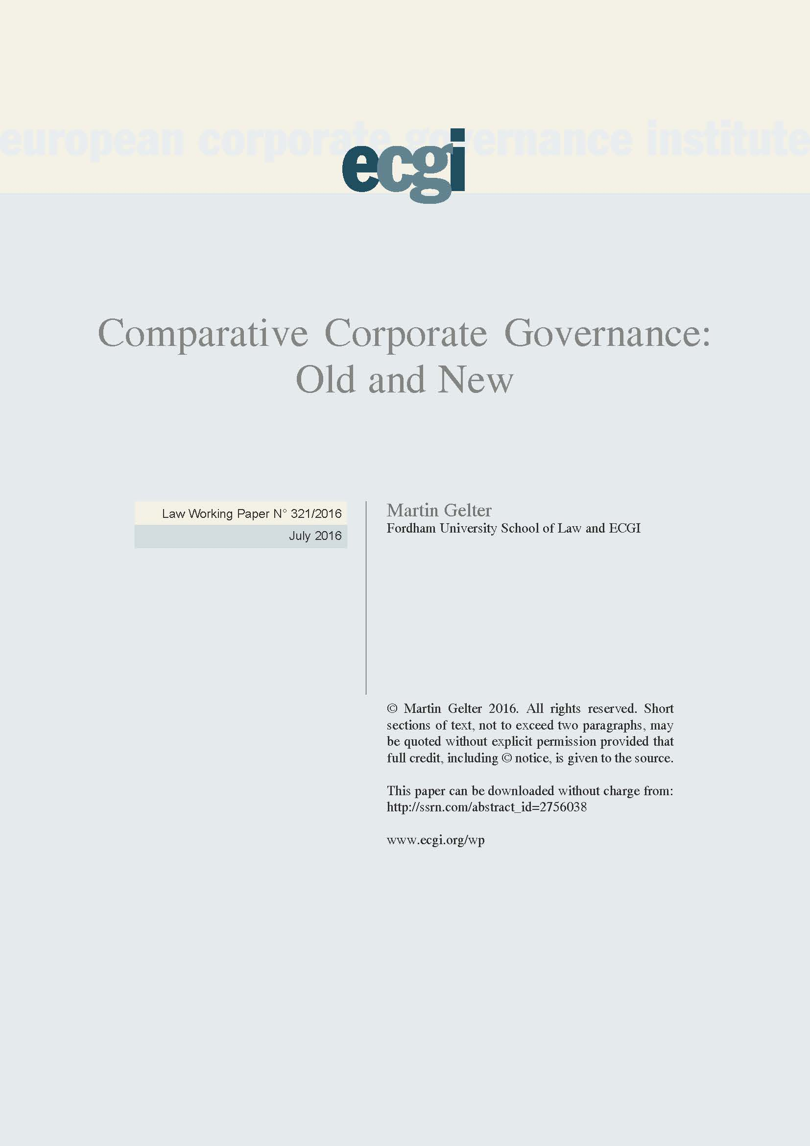 comparative corporate governance Get this from a library comparative corporate governance of non-profit organizations [klaus j hopt thomas von hippel] -- the economic importance of the non-profit sector is growing rapidly in the usand europe.